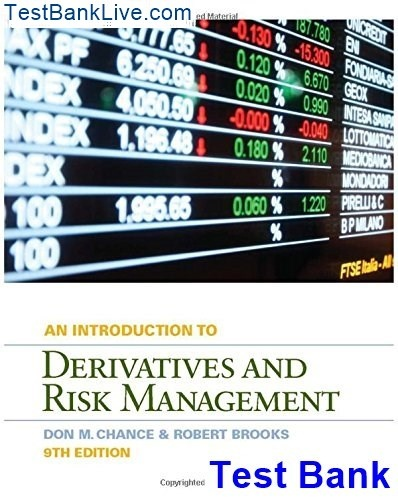 An Introduction To Derivatives And Risk Management Pdf