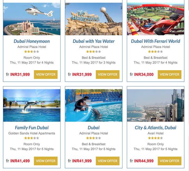 Christmas Travel Package Deals: Tour Operators In Dubai