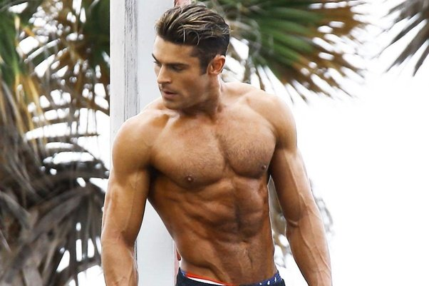 What is the likelihood Zac Efron used steroids to get