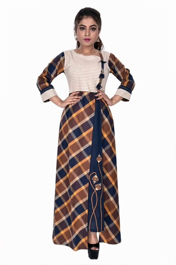 26216ac0be ... women fashion store in Kolkata, Vibhavari offers newest tendy  collections of Latest Designer Kurtis Online at very cheap price.
