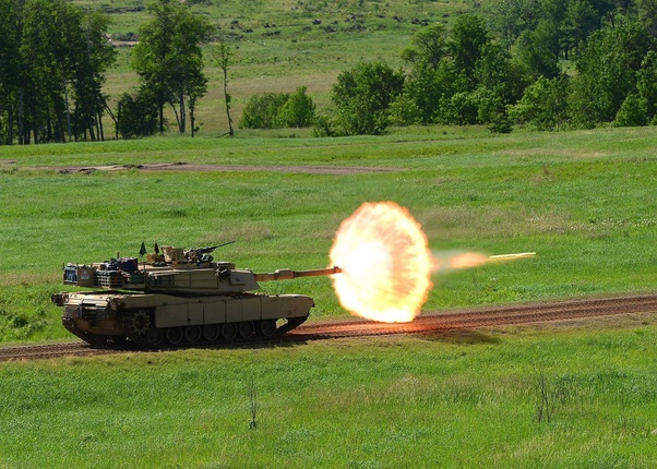 Who would win: an M1 Abrams or every single WWII tank, including