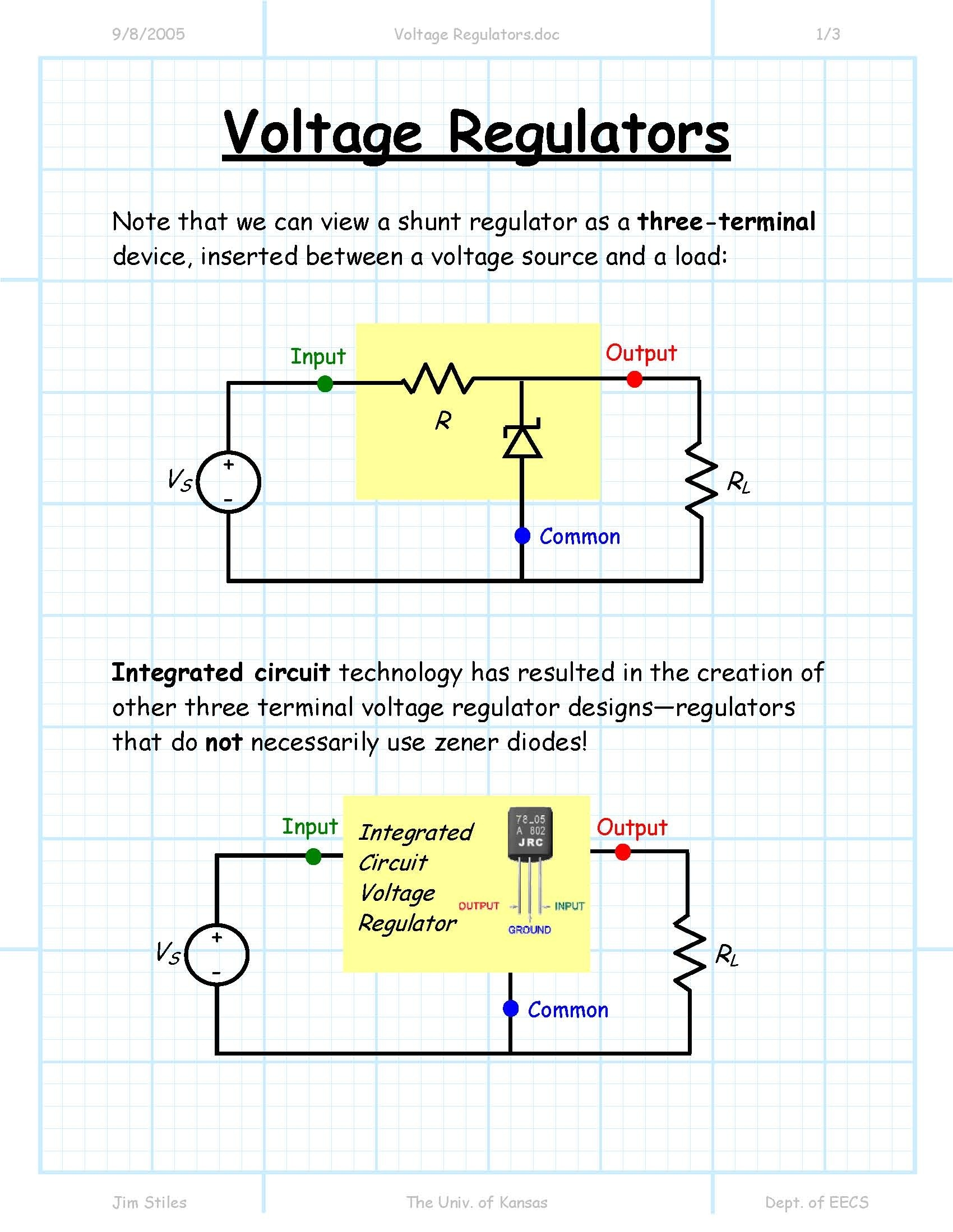 What Are The Components Needed To Make A Voltage Regulator Quora Circuit Pictures For Their You Can Use Zener Diode And Few Discrete