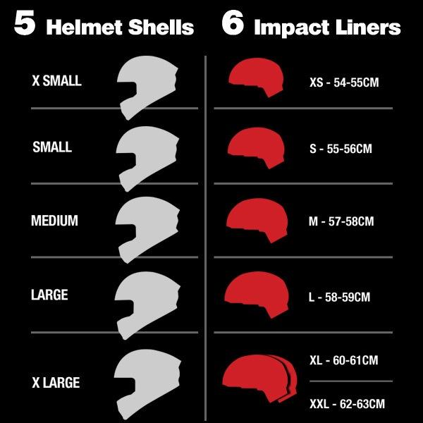 Helmet shells and impact liners | Braaaaaapp