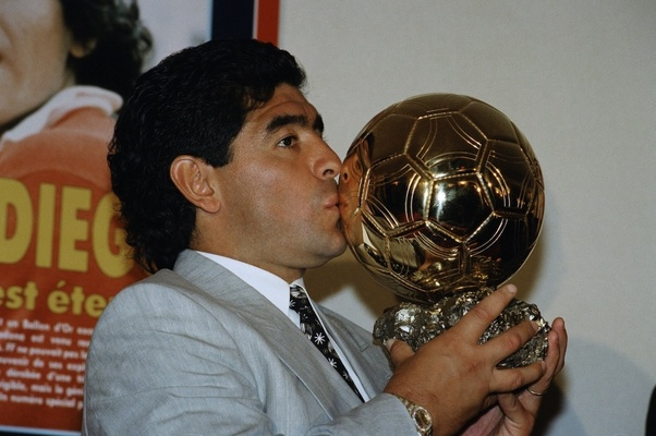 Why Did Pele And Diego Maradona Never Win The Ballon D Or Quora