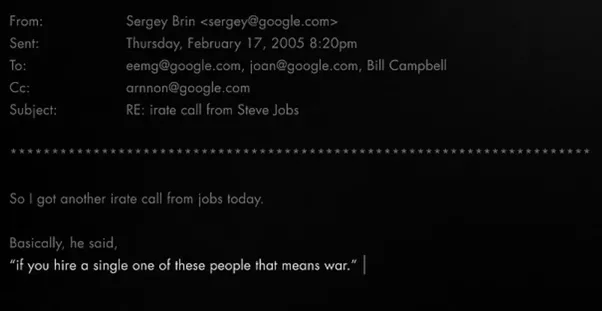 They Wonu0027t Return Your Phone Calls. Because They Wonu0027t Let Them Poach Each  Other. The Strongest Evidence Was E Mails Of The Late, Great Steve Jobs.  Steve Jobs Resume