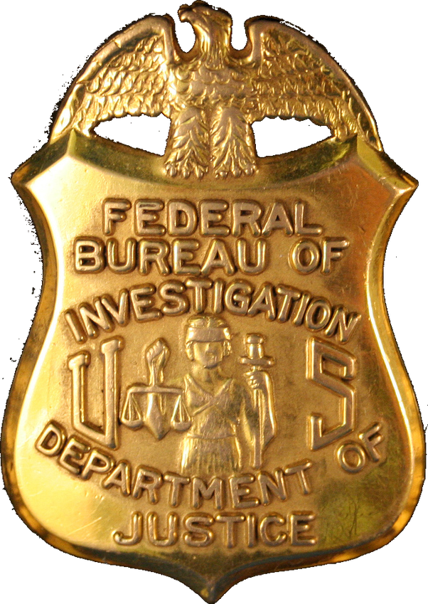 what does an fbi badge look like quora. Black Bedroom Furniture Sets. Home Design Ideas