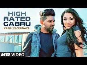 Le High Rated Gabru Lyrics Vocals Guru Randhawa Music Composer Lyricist Directed By Deepak Sharma Label T Series