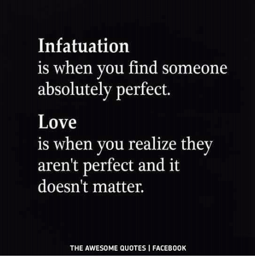 Signs of infatuation vs love