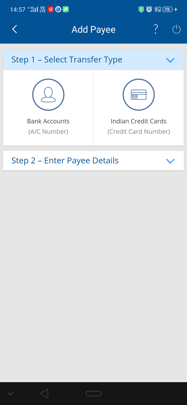 pay icici credit card bill from hdfc debit card