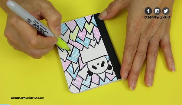 Mini Origami Book - How to Make a Mini Origami Folder Book that ... | 347x602