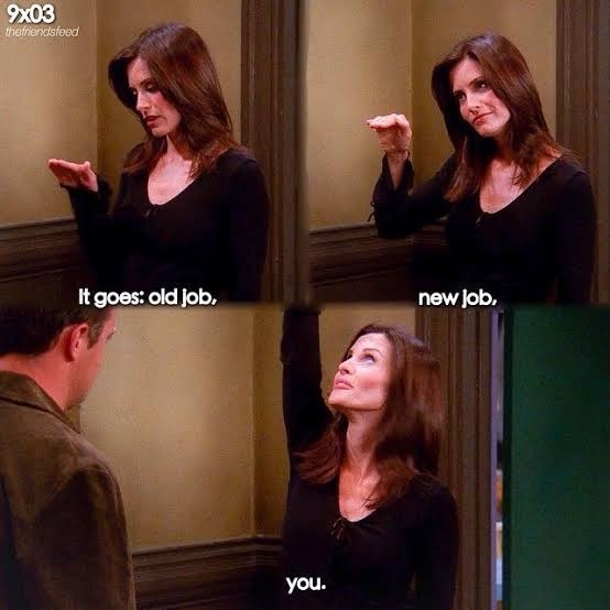 What is the best line ever said by Monica Geller in Friends? - Quora