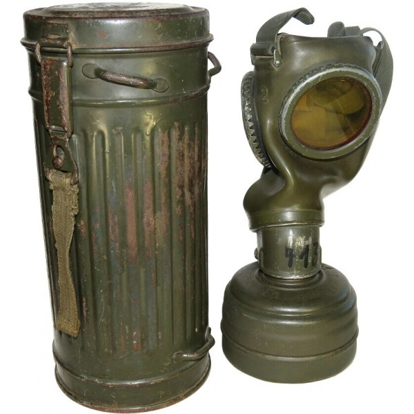 What was the cylinder that German soldiers had on their