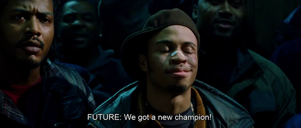 Was the final rap battle between Eminem and Papa Doc real in