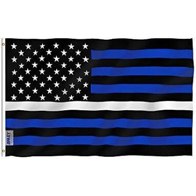 flag line thin usa american flags meaning fly mean does ems striped breeze stripes canvas anley foot grommets header brass