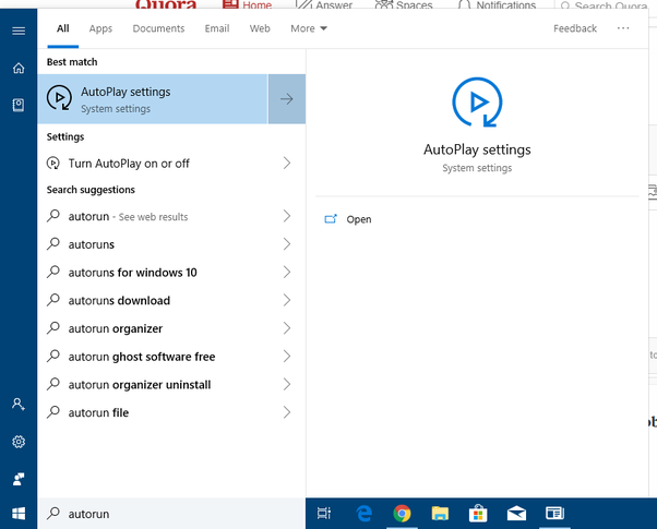 How to know if AutoRun is disabled in my PC - Quora