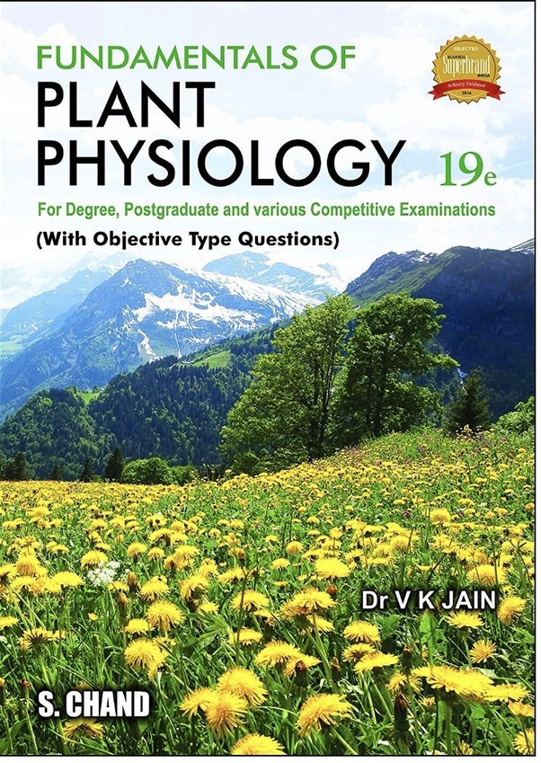 What is the best book for plant physiology in ICAR NET? I am
