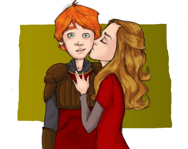 Hermione story weasley love ron and granger Ron Weasley