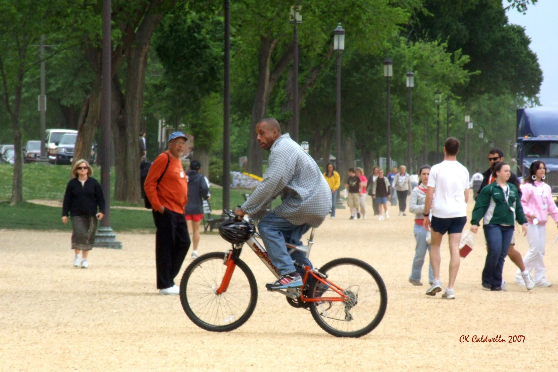 I Had Been Playing Ultimate Frisbee And Stupidly Took Off Chasing My Bike Thankfully My Younger And Faster Friends Took Off With Me Once They Realized