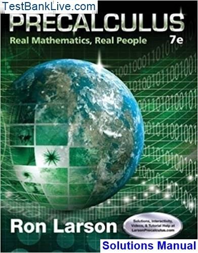 Where can I read Precalculus Real Mathematics, Real People