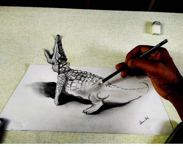 What are the best pencils for doing 3D sketches? - Quora