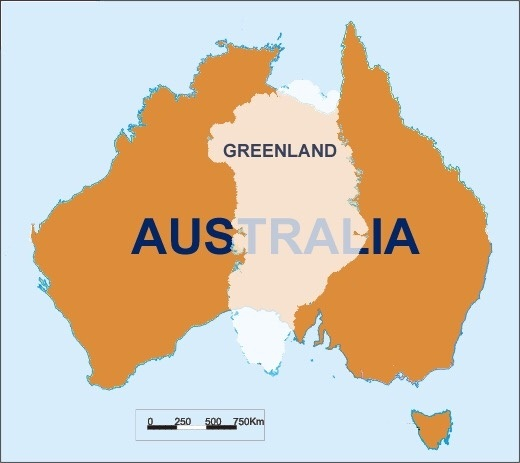 Why Is Australia Considered A Continent And Not An Island Quora - Why is greenland not a continent