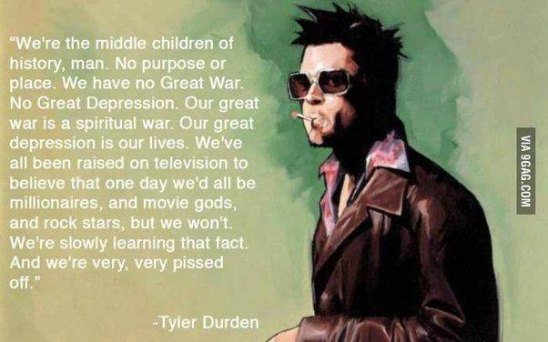 Fight Club Movie Quotes T