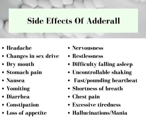 Is Adderall effective for studying? - Quora