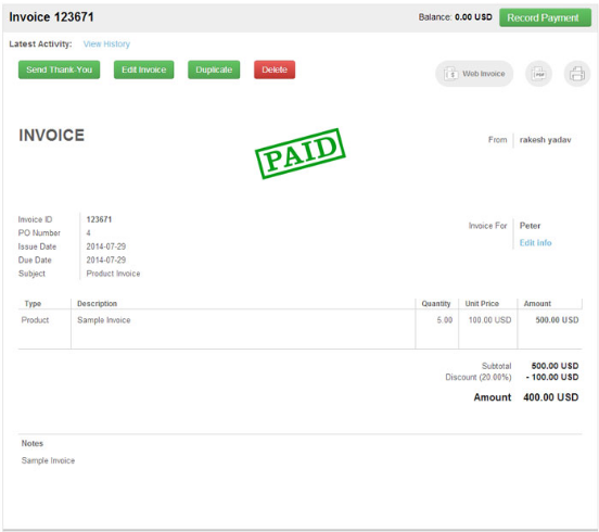 What Is The Best Invoicing Software For Small And Medium Size - Invoice accounting software