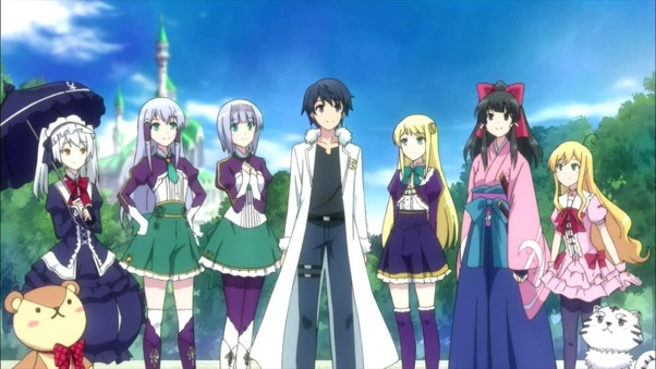 What Are Some Great Anime With An Op Mc I Prefer Anime With Magic Quora