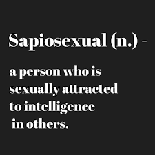 Word for sexually attracted to intelligence
