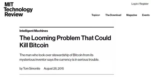 Quelles sont les principales limites de Bitcoin?