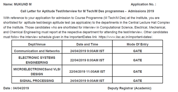 What interview questions are asked in the IITs for an MTech