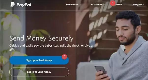 Comment envoyer de l'argent à un utilisateur PayPal sans avoir mon propre compte PayPal