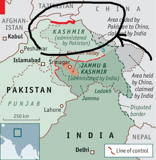 If Not Then India Does Share A Land Border With Afghanistan