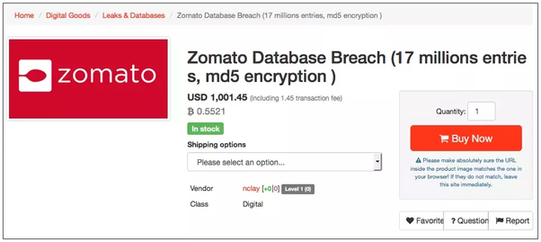Zomato was hacked  How/when does a company realise its data has been