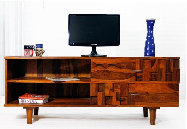 Buy Wild Range Of Wooden TV Cabinet, Wooden TV Stand, Corner TV Cabinet And  Sheesham Wood TV Cabinets At TimberTaste Hand Made Solid Sheesham Wood  Furniture ...