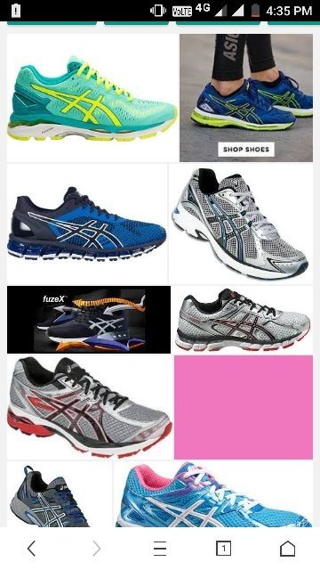 For those who have no idea about this brand, have a look at these shoes.  These are shoes of ASICS brand