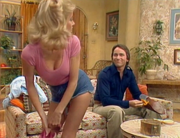 Think, Threes company sexy moments