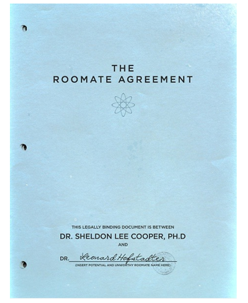 What rules are listed in sheldon coopers roommate agreement quora what rules are listed in sheldon coopers roommate agreement platinumwayz