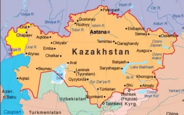 actually oral uralsk chapaev and atyrau lying as they are on the right west bank of the ural river atyrau actually straddles it are european cities