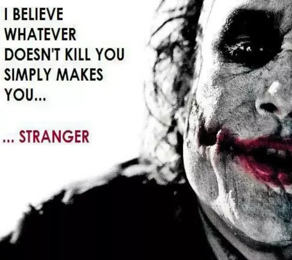 What Is The Best Heath Ledger Joker Quote?