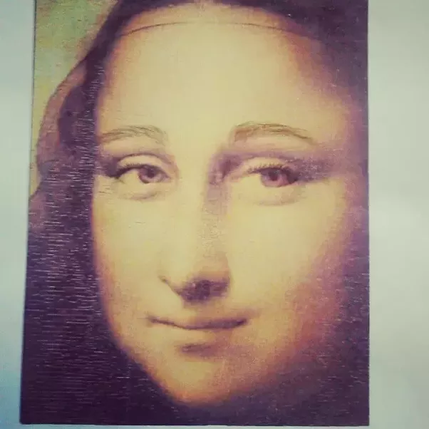 What Does The Mona Lisa Look Like With Eyebrows Quora