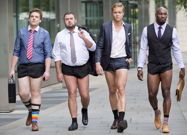 dce7692895 Question answered: Why do some men wear very short shorts?