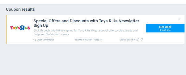 where to find 10 or 20 off toys r us in store printable coupon quora