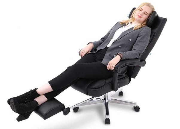 You Can Find A Good Roundup Of Good Reclining Office Chairs Here: Best  Reclining Office Chairs With Footrests (June 2018 Reviews)   Ergonomic  Trends