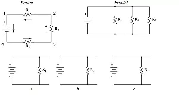 why does voltage change in series circuit but not in parallel rh quora com