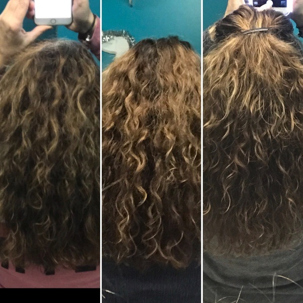 How to make my thick and curly hair soft and silky - Quora