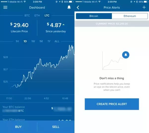 Platform Bitcoin Trading Quora Set Alerts Favorite Cryptocurrencies Purchase Sell