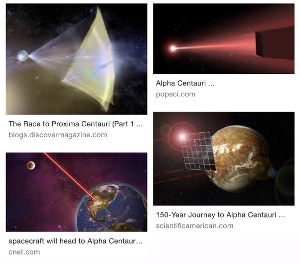 In drive centauri the at proxima