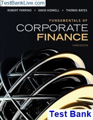 Where can I find Test Bank for Fundamentals of corporate